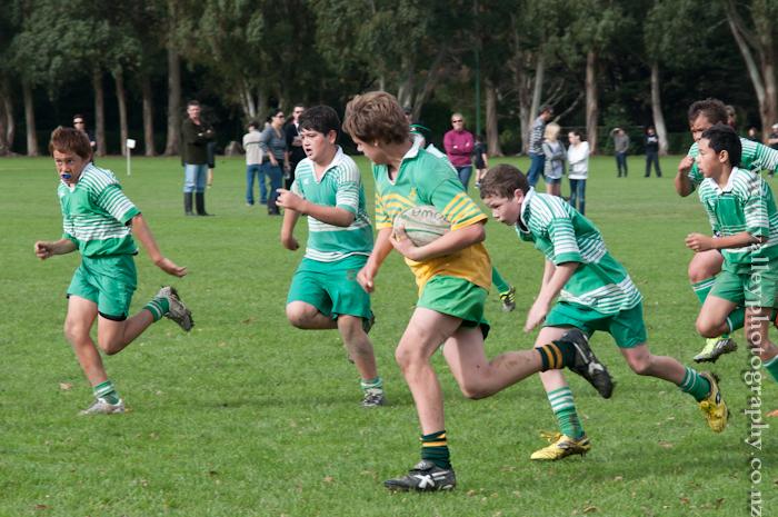 Ashhurst U12 vs Marist U12 Green rugby