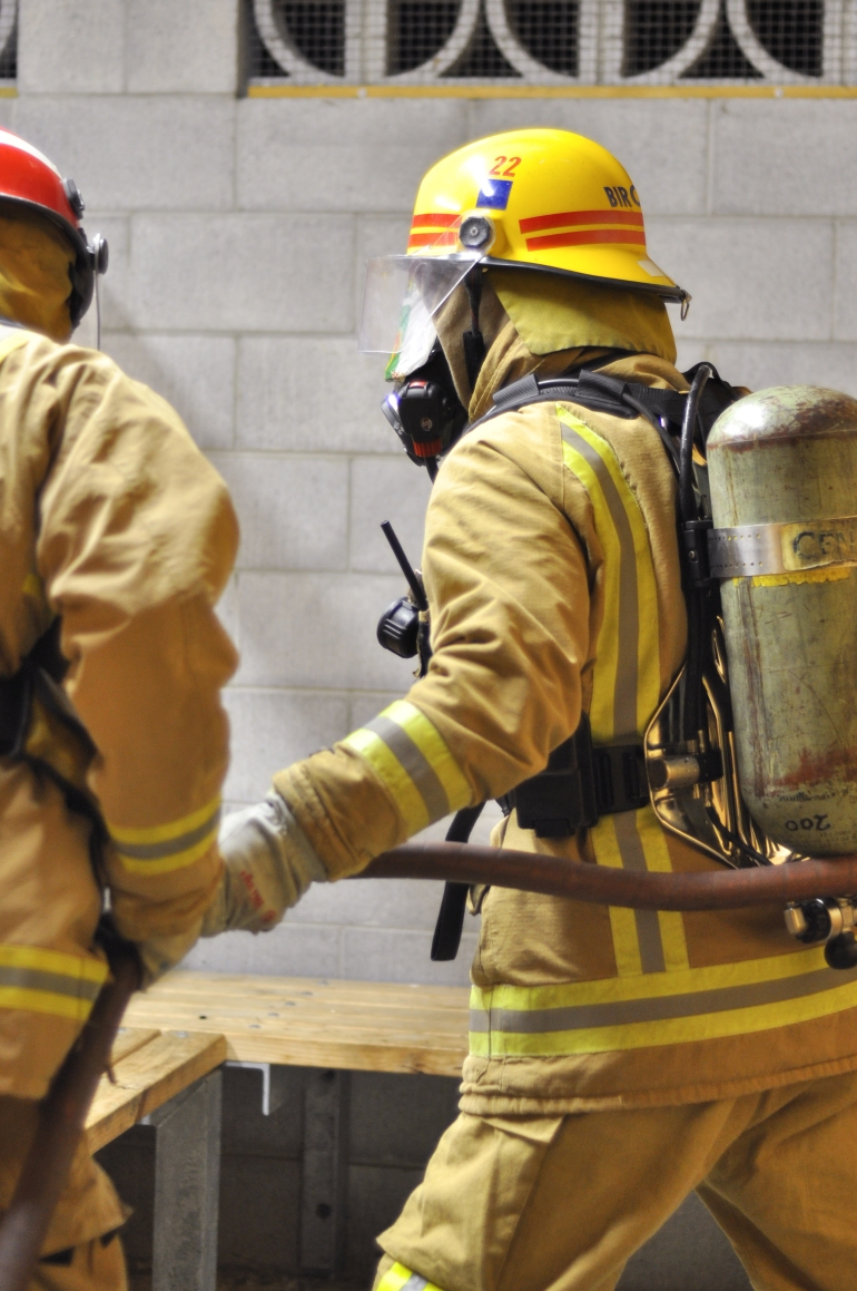 Ashhurst fire brigade training
